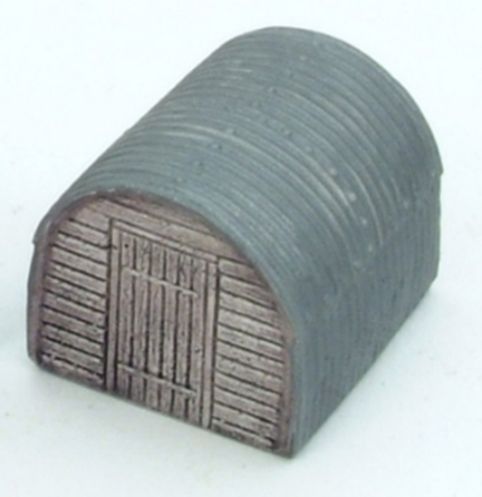 Anderson Shelter (corrugated iron shed) wooden ends