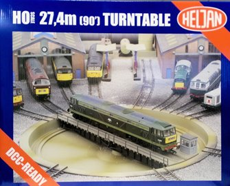 Operating 21.5m (OO Gauge)/27.4m (HO Gauge) Turntable (Ready for installation) DCC Ready
