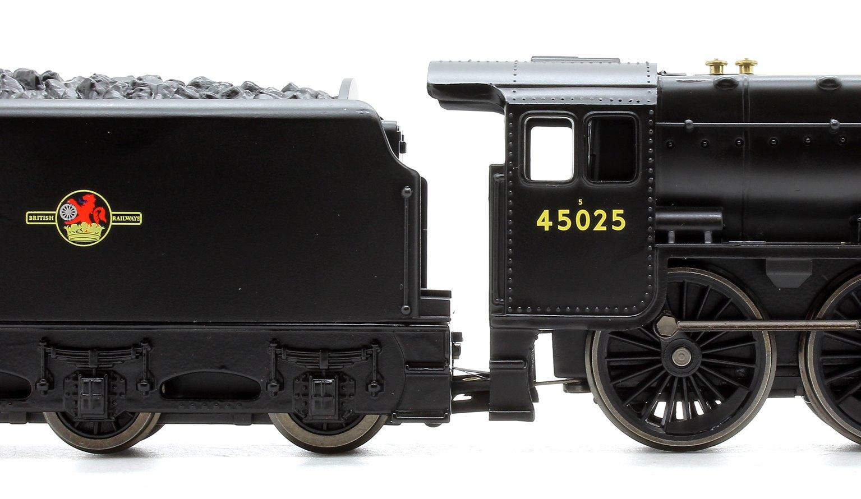 RailRoad BR 4-6-0 '45025' 'Black 5' Class 5MT Locomotive