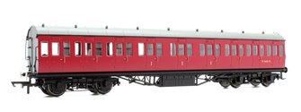 BR Ex-LMS Suburban Non-Corridor Composite Coach 'M16635', Crimson