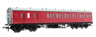 BR Ex-LMS Suburban Non-Corridor Third Class Brake Coach 'M20737M', Crimson *2017 Range*