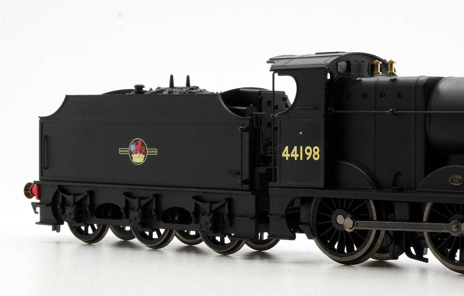 BR 0-6-0 Fowler 4F Class '44198' - Late BR with TTS Sound