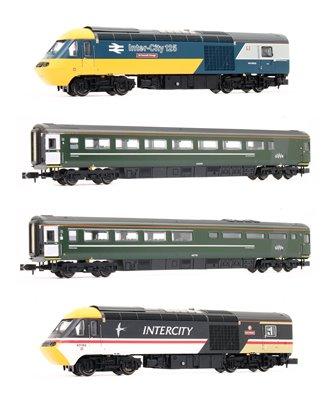 Class 43 HST 43002/185 GWR Final Days Celebrity 4 Car HST Set
