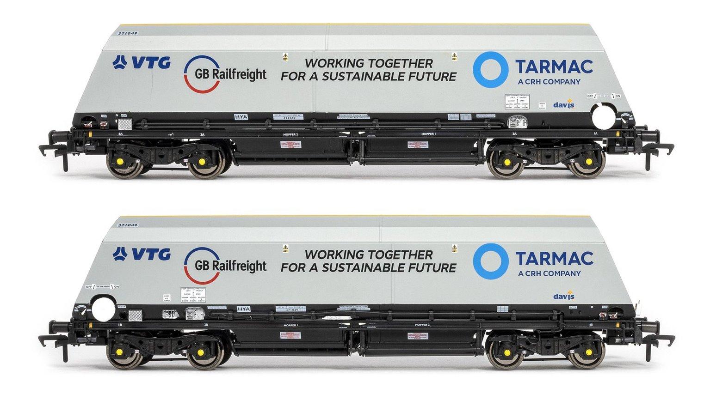 Cutdown HYA Wagon Twin Pack - w/GBRf/Tarmac w/VTG logos (Pack 2)