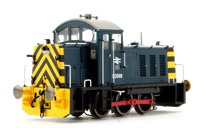 Class 07 - D2998 BR blue Diesel Shunter
