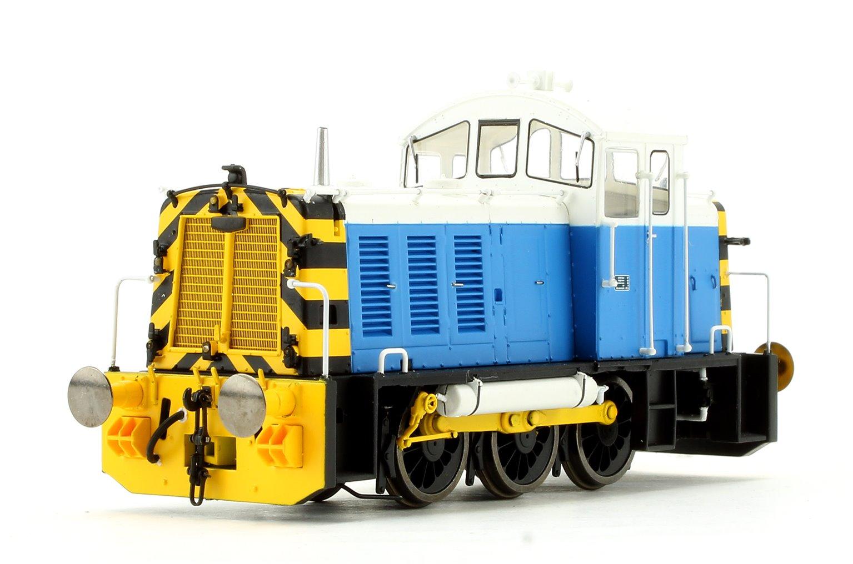 Class 07 006 Powell Duffryn Blue/White Diesel Shunter