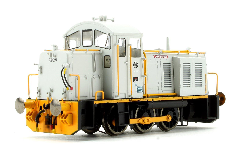 Class 07 005 'Langbaurgh' ICI Grey/Orange Diesel Shunter