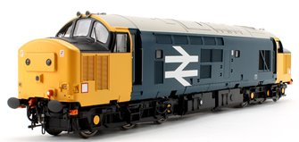 Class 37/4 BR Blue Large Logo Diesel Locomotive (Unnumbered)