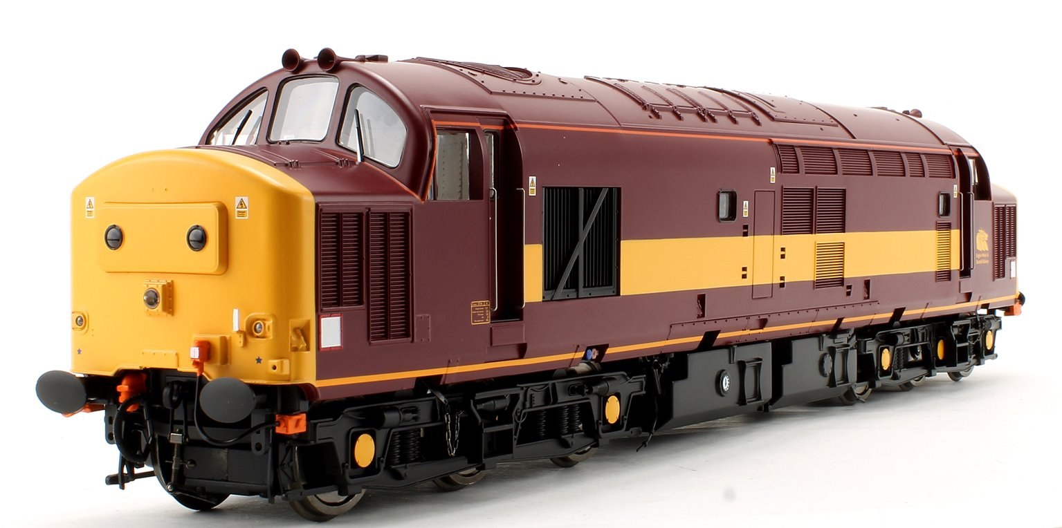 Class 37/4 EWS Livery Un-numbered Diesel Locomotive