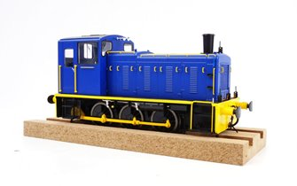 Class 03 (Un-numbered) Industrial Blue/Yellow Diesel Shunter (Flowerpot Exhaust)