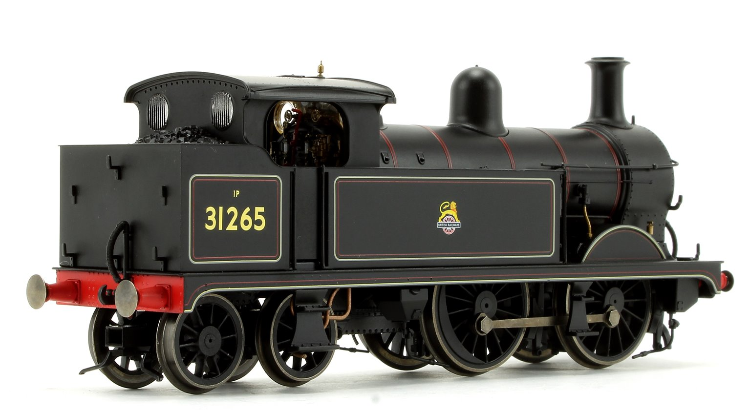 BR Black (Early) Wainwright H Class 0-4-4 Tank Locomotive No.31265