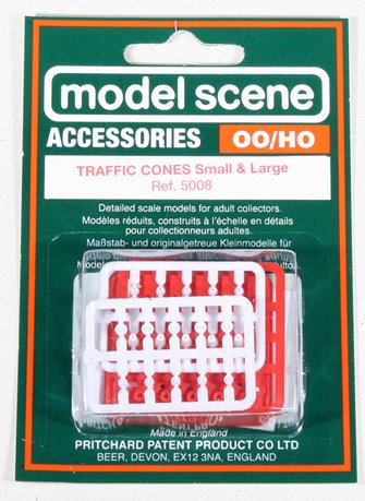 Modelscene 5008 Traffic Cones (Large and Small)