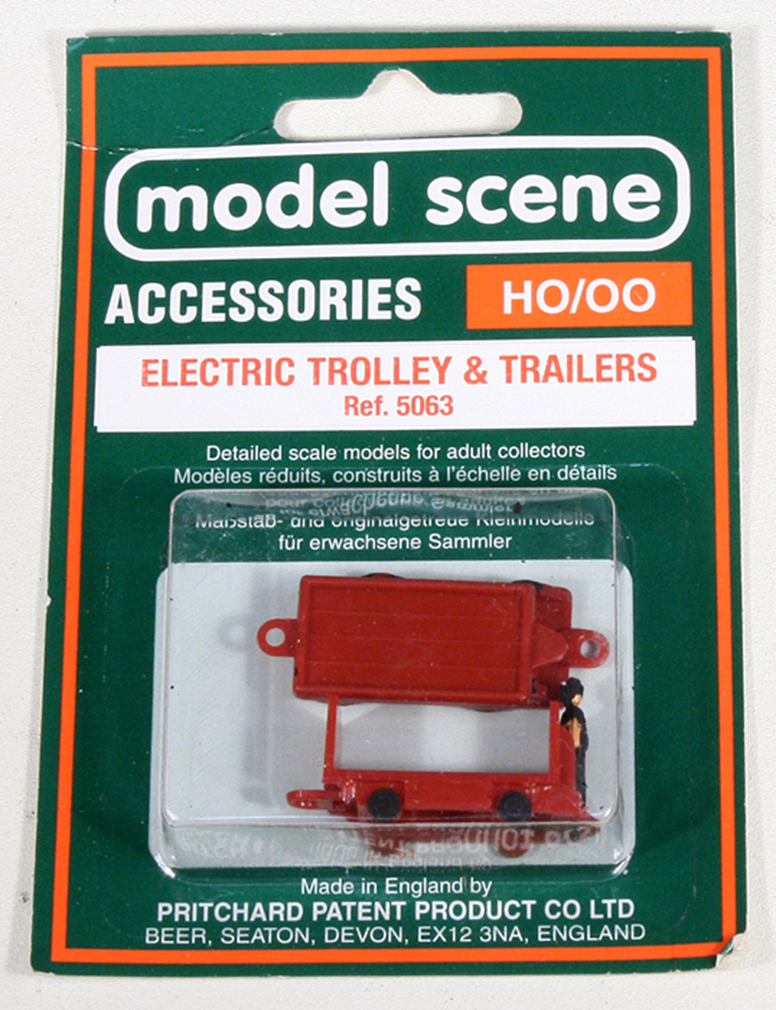 Modelscene 5063 Electric Trolly and Trailer