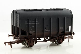 Dapol 4F-036-018 Bulk Grain Hopper GWR Avonmouth 42315 Weathered