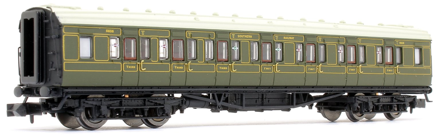 Maunsell High Window CK Coach Lined Olive Green 5635