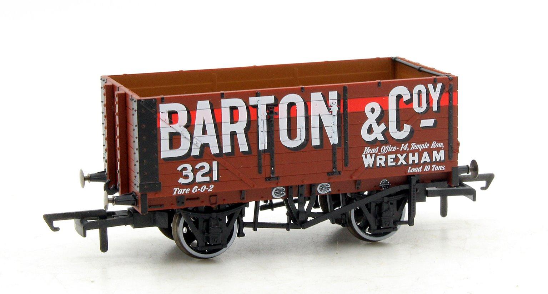 7 Plank Mineral Wagon - Barton and Co No 321