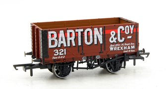 7 Plank Mineral Wagon - Barton and Co No 321