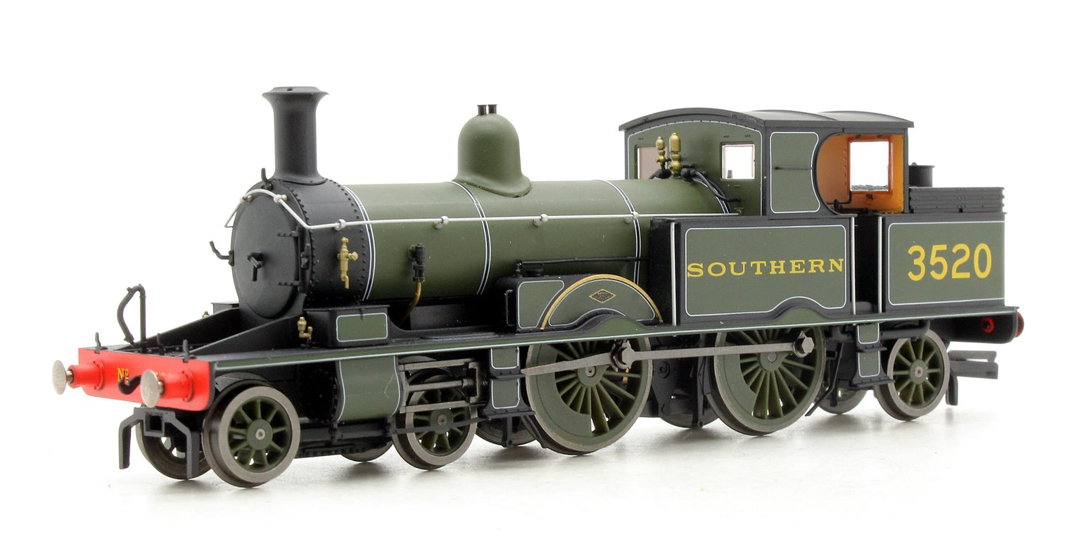 Adams Radial Steam Locomotive - Southern 3520 DCC Sound