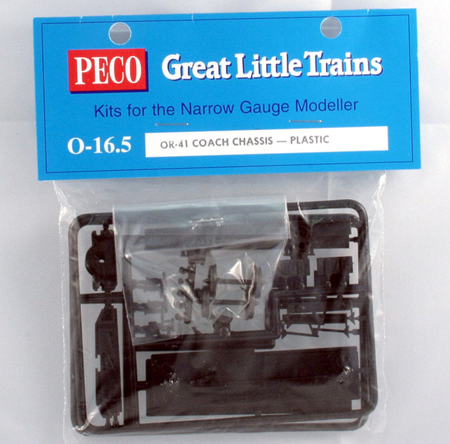 O-16.5 Scale Plastic Coach Chassis