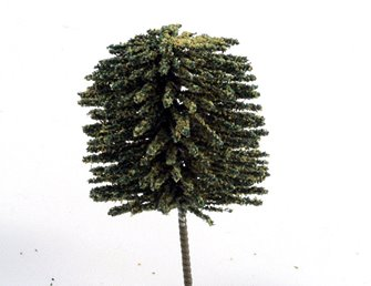 25mm Green Deciduous Tree