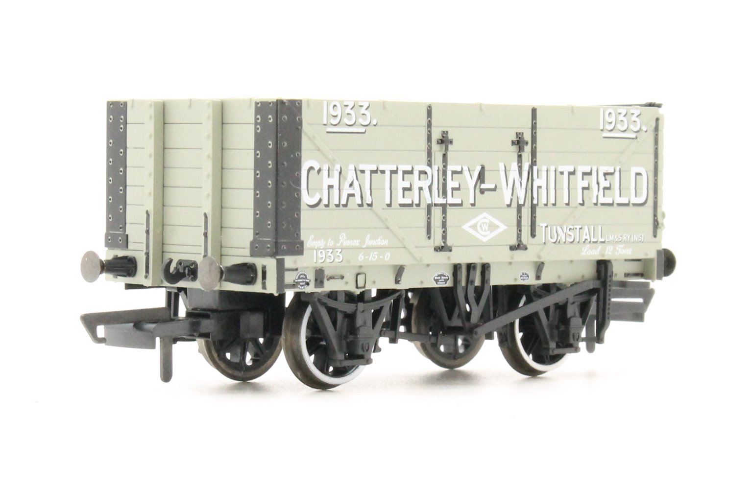 7 Plank Mineral Wagon Chatterley Whitfield Tunstall No1933