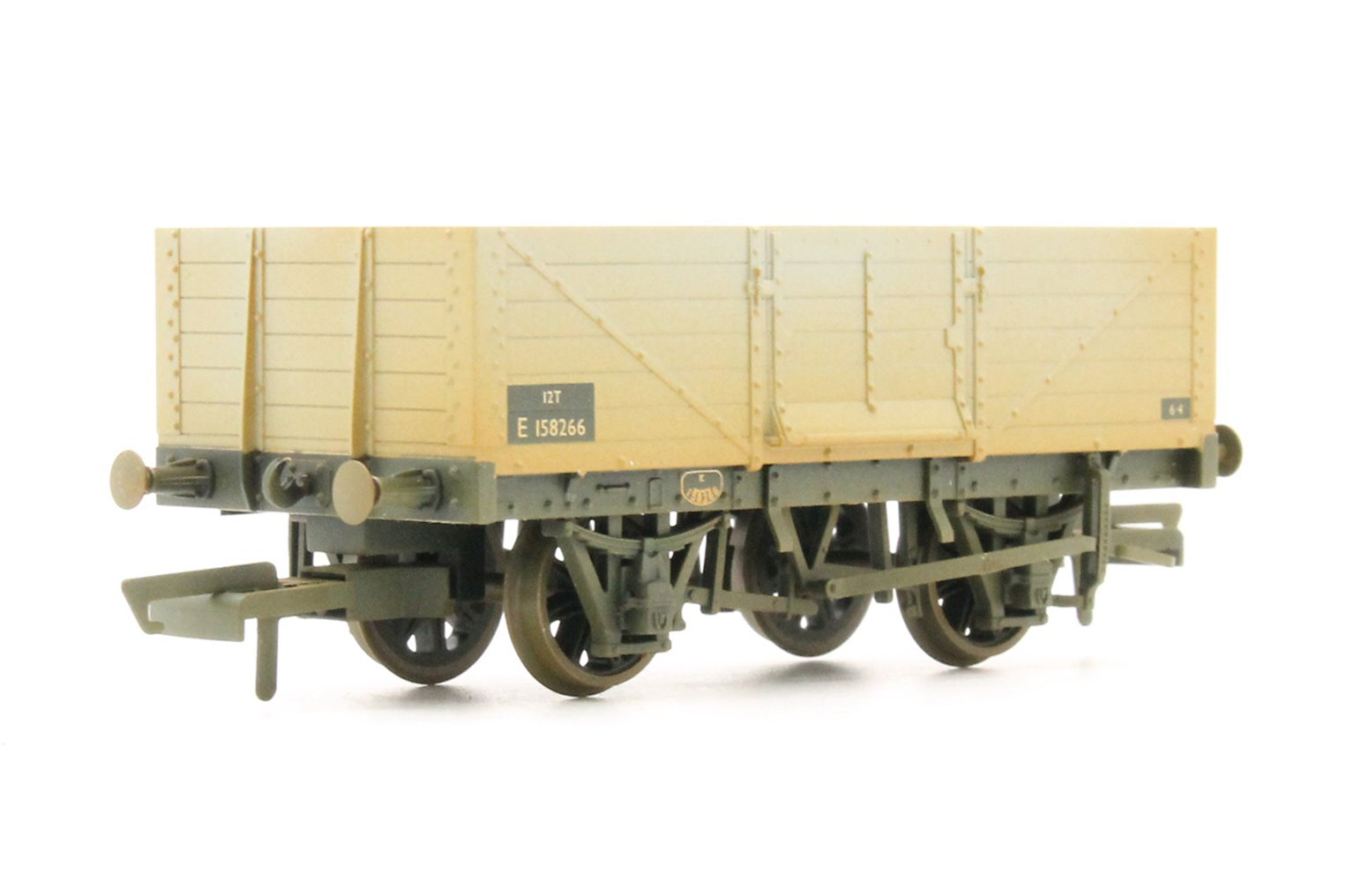 6 Plank Mineral Wagon BR Weathered