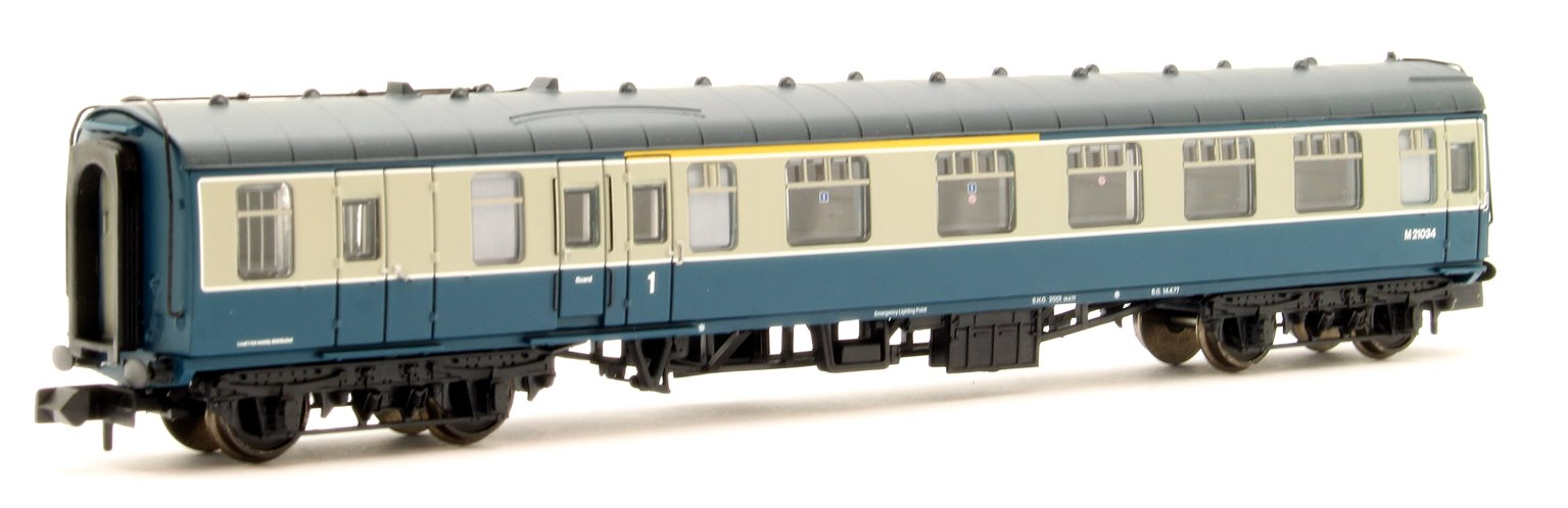 BR Mk1 BCK Brake Corridor Composite Blue & Grey