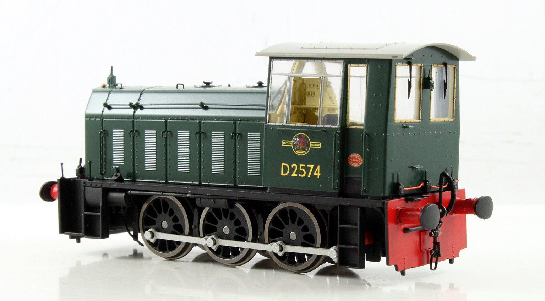 BR Hunslet Class 05 Diesel Shunter #D2574 BR Green - Type A