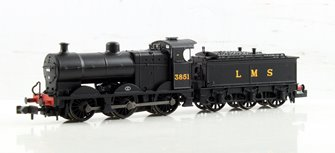 Midland Class 4F #3851 LMS Black Johnson Tender