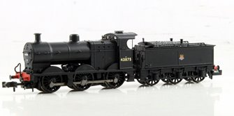 Midland Class 4F #43875 BR Black Early Emblem Johnson Tender