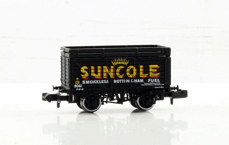 8 Plank Wagon with Coke Rails 'Suncole'