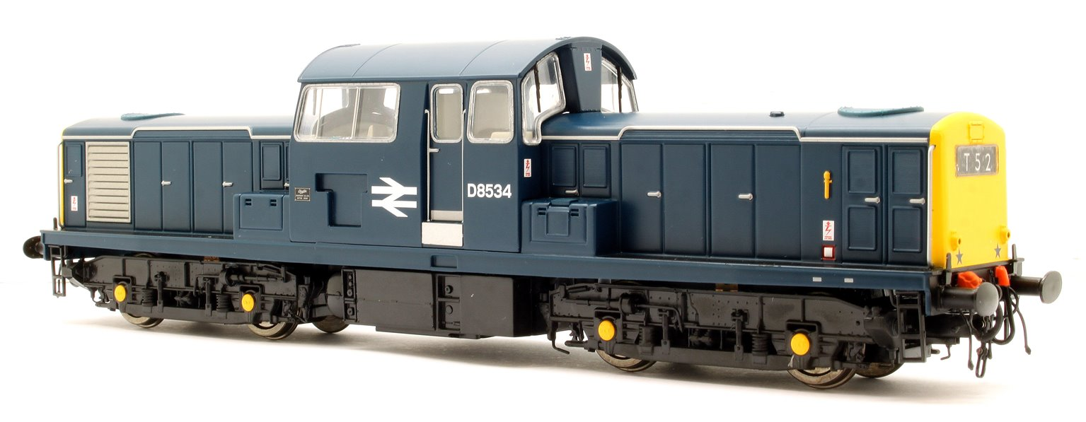 Class 17 Clayton D8534 BR Blue (Full Yellow Ends) Diesel Locomotive