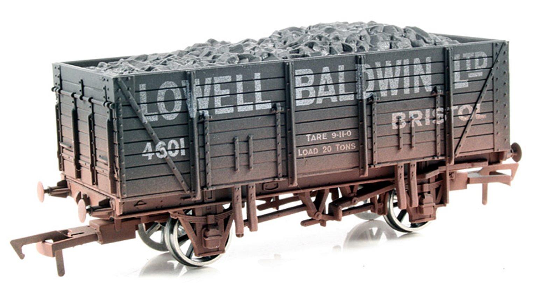 Baldwin 9 Plank Wagon - Weathered