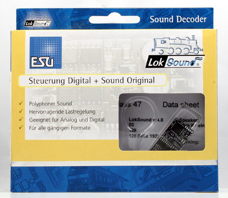 V4.0 Diesel Class 47 Digital Sound Decoder with Speaker - 21 pin