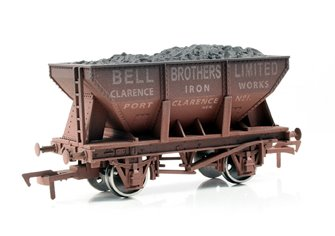 Bell Bros 24 Ton Steel Ore Hopper Wagon - Weathered