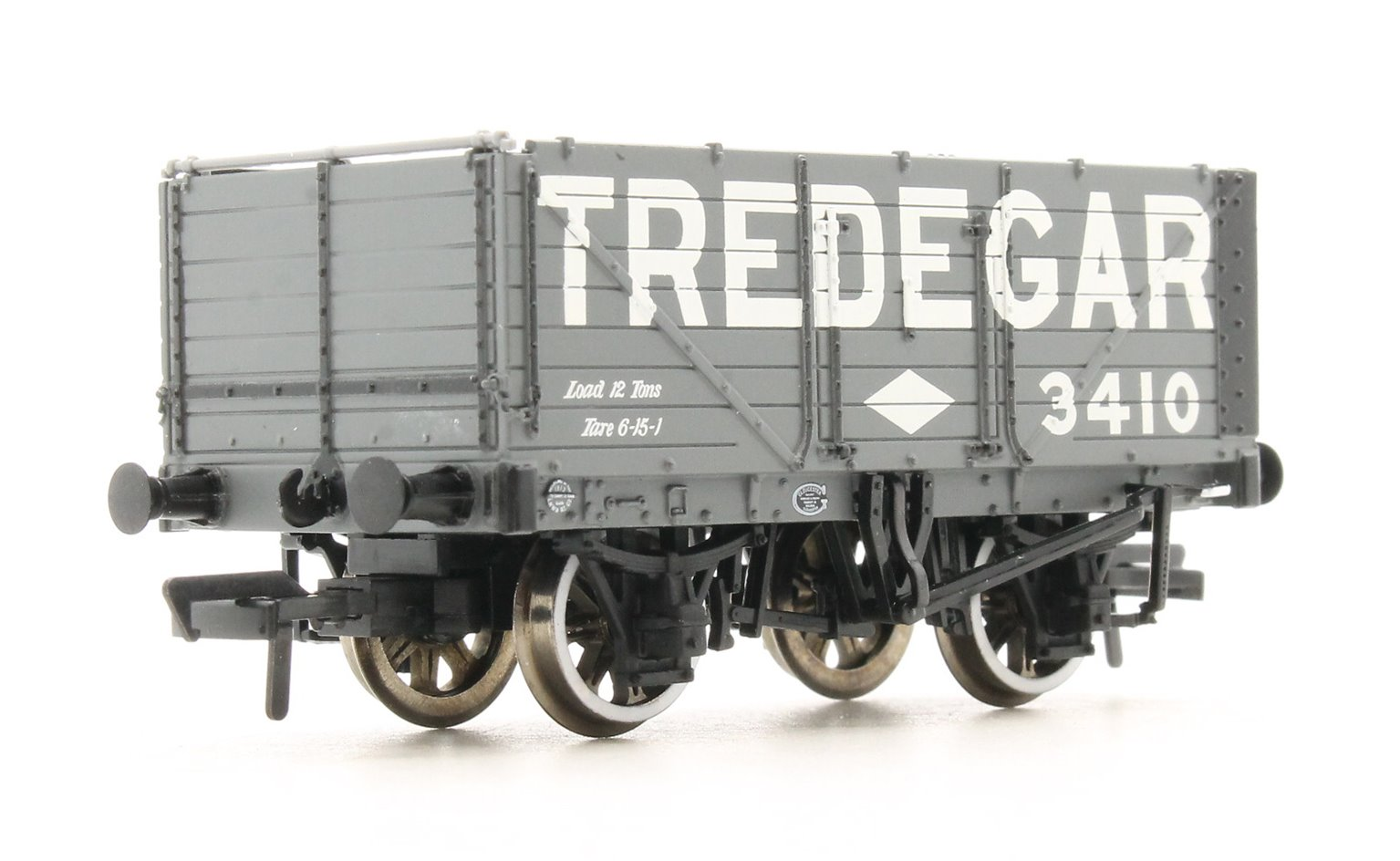 7 Plank End Door Wagon 'Tredegar' with Load