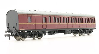 BR MK1 Suburban Second Brake BR Lined Maroon Coach