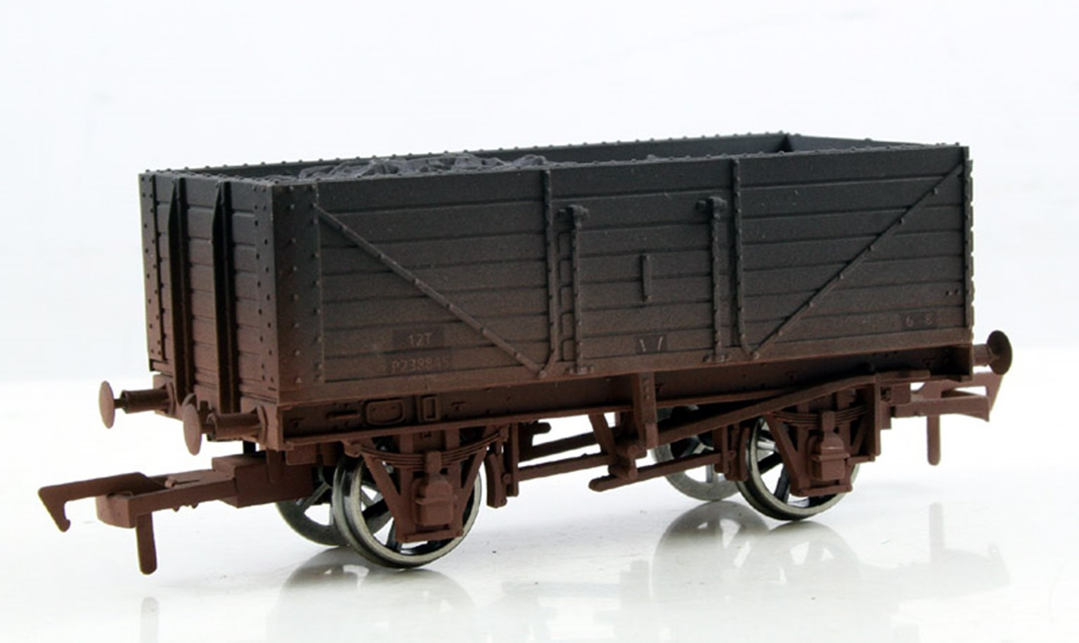 BR 7 Plank Wagon - Weathered