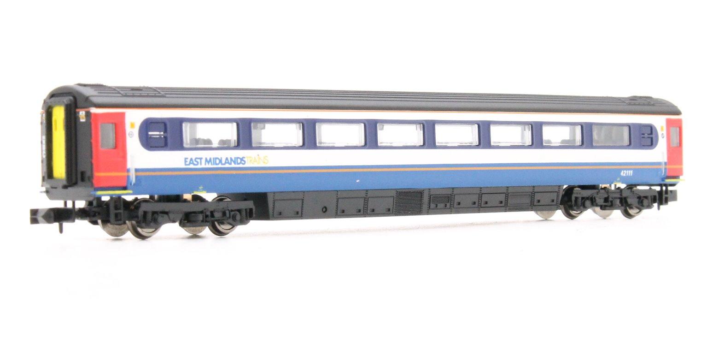 Mk3 East Midlands Trains 2nd Class 42111 'D' HST
