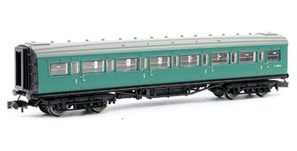 Maunsell Corridor 1st Class Coach number S7667