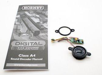 Hornby Digital Class A4 Steam Locomotive DCC TTS Sound Decoder and Speaker