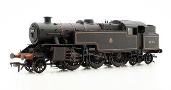 Fairburn 2-6-4 Tank 42105 BR Lined Black E/Emblem Weathered