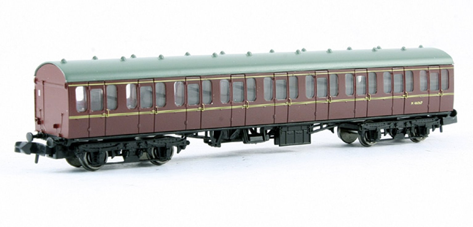 BR Mk1 57ft Suburban Compartment Second Maroon