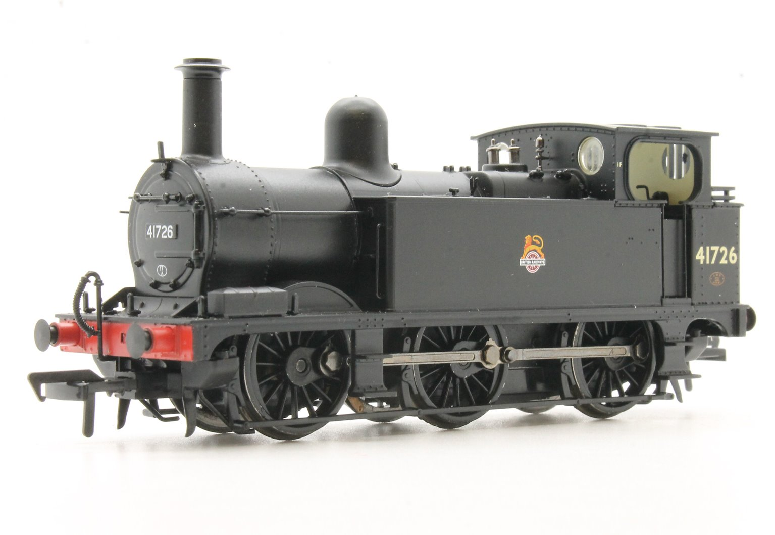 Midland Class 1F Enclosed Cab BR Black Early Emblem No.41726