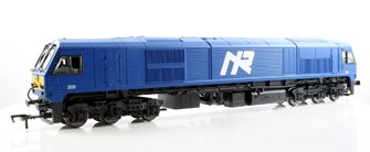 "Murphy Models Class 201 no 209 ""River Foyle"" in NIR Blue livery Diesel Locomotive"