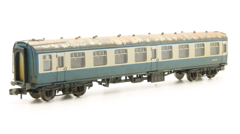 N Scale Mk1 Coach Pack 'Works Test Train' BR Blue & Grey Weathered