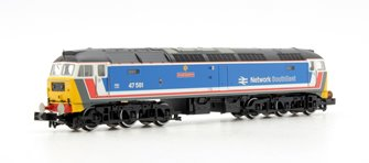 Class 47 581 'Great Eastern' Network South East Diesel Locomotive