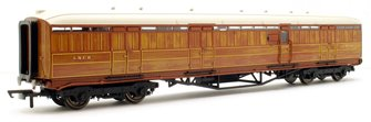 "LNER 61' 6"" Gresley Teak Full Brake Coach No.4234"
