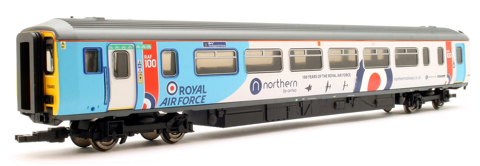 Northern Rail, Class 156, Set 156480, DMS No. 57480 and DMSL No. 52480, 'Spirit of the Royal Air Force'