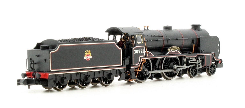 Schools Class 'Shrewsbury' #30921 BR Lined Black Small Early Emblem